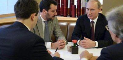Un uomo ha detto all'ANSA di essere la terza persona presente all'incontro con Gianluca Savoini in Russia
