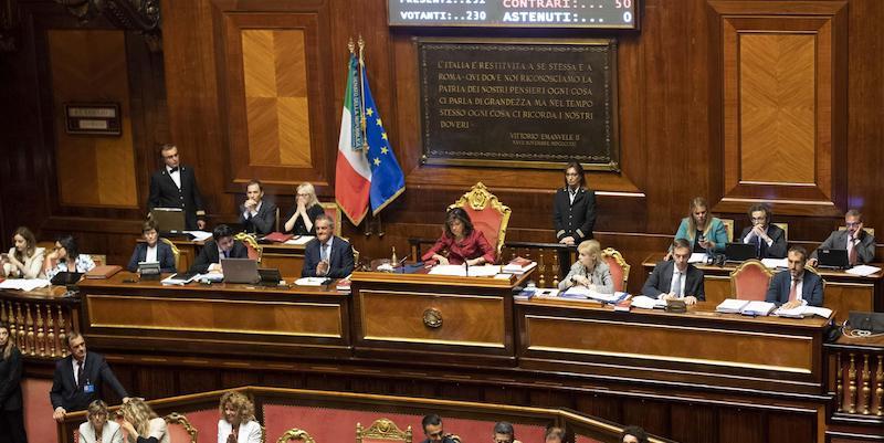 Il senato ha approvato in seconda lettura la proposta di for Numero deputati