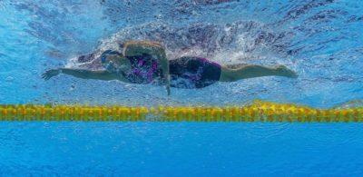 Simona Quadarella ha vinto la medaglia d'argento negli 800 stile libero ai Mondiali di nuoto