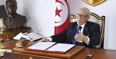 Tunisia, è morto il presidente Essebsi