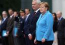 Angela Merkel ha avuto un nuovo tremore durante un'occasione pubblica