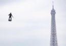 Le foto della parata per il 14 luglio a Parigi