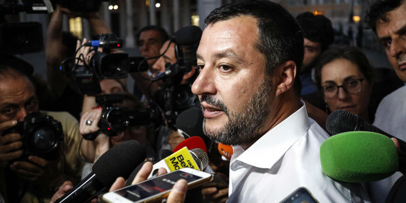 Salvini contrattacca: