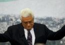 Il presidente palestinese Mahmoud Abbas ha annunciato la cessazione di tutti gli accordi con Israele