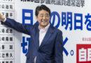 Un'altra vittoria per Shinzo Abe, ma a metà