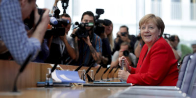 Angela Merkel ha detto di nuovo che sta bene