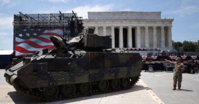 Trump avrà la sua parata militare