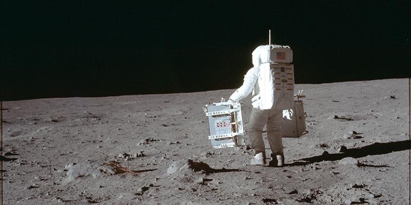 Come abbiamo fotografato la Luna, sulla Luna
