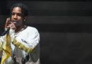 Il rapper ASAP Rocky è stato incriminato per aggressione in Svezia