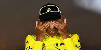Egan Bernal, vincitore del Tour de France