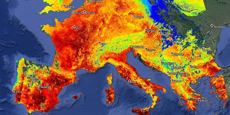 METEO CRONACA DIRETTA: a PARIGI 43°, il giorno più caldo di sempre!