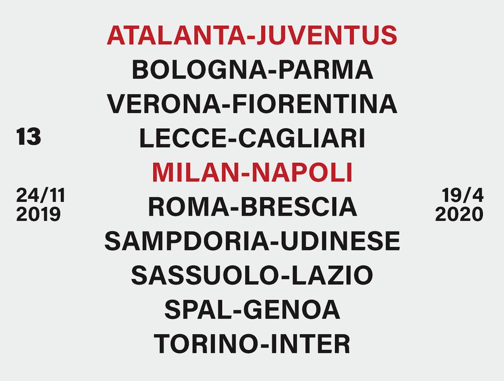Calendario Serie A 2019 20 Juventus.Serie A Il Calendario Del Campionato 2019 20 Il Post