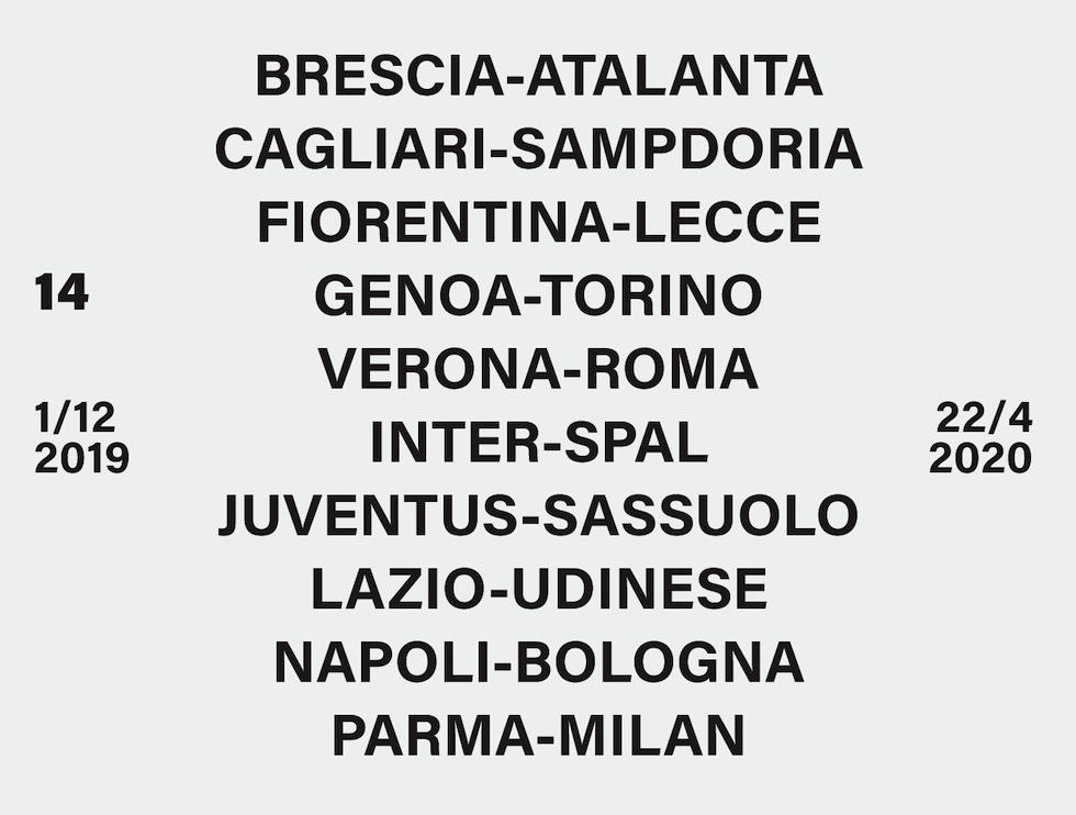 Calendario Partite Milan 2020.Serie A Il Calendario Del Campionato 2019 20 Il Post