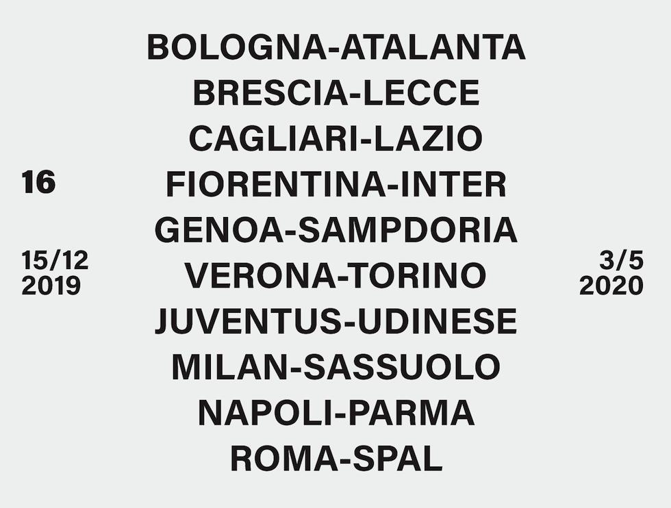 Quando Esce Il Calendario Di Serie A.Serie A Il Calendario Del Campionato 2019 20 Il Post
