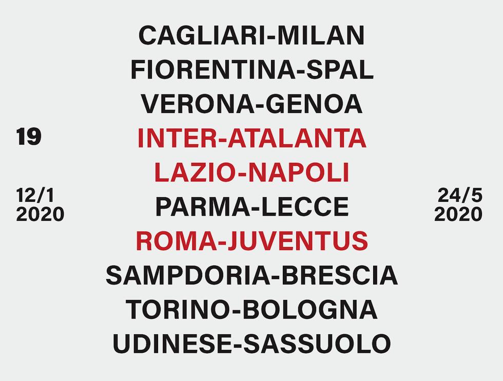 Udinese Calendario 2020.Serie A Il Calendario Del Campionato 2019 20 Il Post