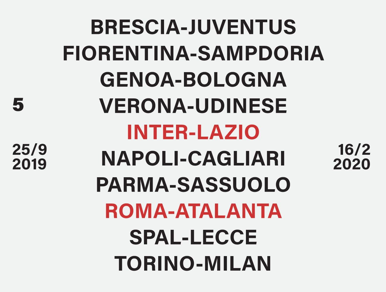 Calendario Serie A Maggio 2020.Calendario Serie A Tutte Le Giornate Del Campionato Il Post