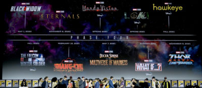 I film e le serie tv Marvel dei prossimi  anni