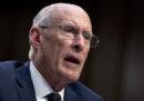 Il direttore dell'Intelligence degli Stati Uniti, Dan Coats, lascerà il suo incarico il 15 agosto