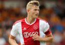 La Juventus ha acquistato il difensore olandese Matthijs de Ligt per 75 milioni di euro