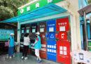Shanghai è alle prese con la raccolta differenziata