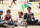 Foto e video dal festival di Glastonbury