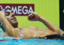 Gregorio Paltrinieri ha vinto la medaglia d'oro negli 800 stile libero ai Mondiali di nuoto
