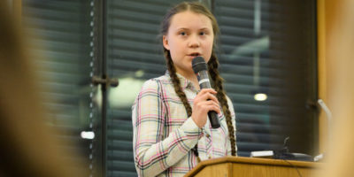 Greta Thunberg andrà in America in barca a vela