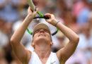 La tennista romena Simona Halep è la prima finalista al torneo di Wimbledon