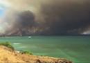 C'è stato un grosso incendio sull'isola di Maui, nelle Hawaii