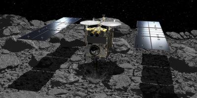 La sonda giapponese Hayabusa-2 ha toccato il suo asteroide