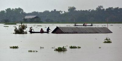 Milioni di sfollati in India a causa del monsone