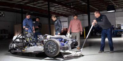 Le auto elettriche coi motori nelle ruote
