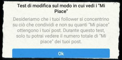 """Instagram ha iniziato a nascondere i """"Mi piace"""" anche in Italia"""