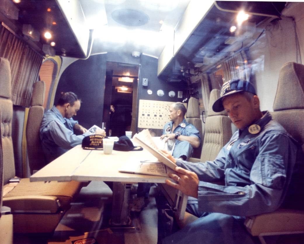 La Quarantena Dell'Apollo 11