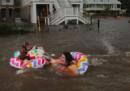L'uragano Barry, in Louisiana