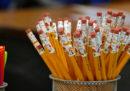 Perché le matite sono gialle?