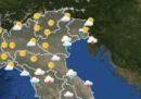 Le previsioni meteo per lunedì 8 luglio