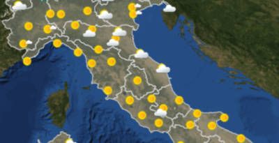 Le previsioni meteo per venerdì 26 luglio