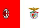 Dove vedere Milan-Benfica in TV e in streaming