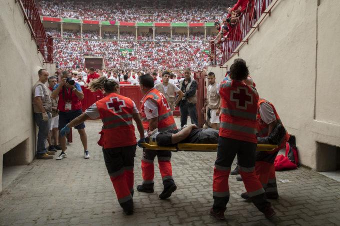 Al via la corsa dei Tori a Pamplona, tre feriti