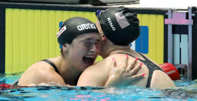 Benedetta Pilato ha vinto la medaglia d'argento nei 50 rana ai Mondiali di nuoto