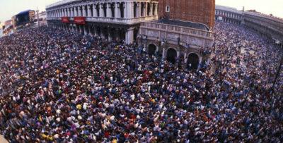 Il concerto dei Pink Floyd a Venezia, 30 anni fa