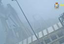 Il video inedito del crollo del ponte Morandi