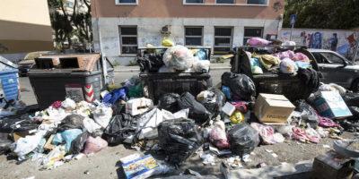 I rifiuti di Roma dovranno essere rimossi entro sette giorni