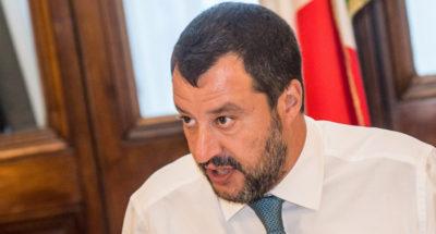"""Matteo Salvini dice che vuole """"pieni poteri"""""""