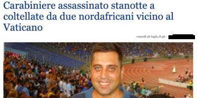 La notizia falsa sui «nordafricani» coinvolti nell'omicidio del carabiniere a Roma
