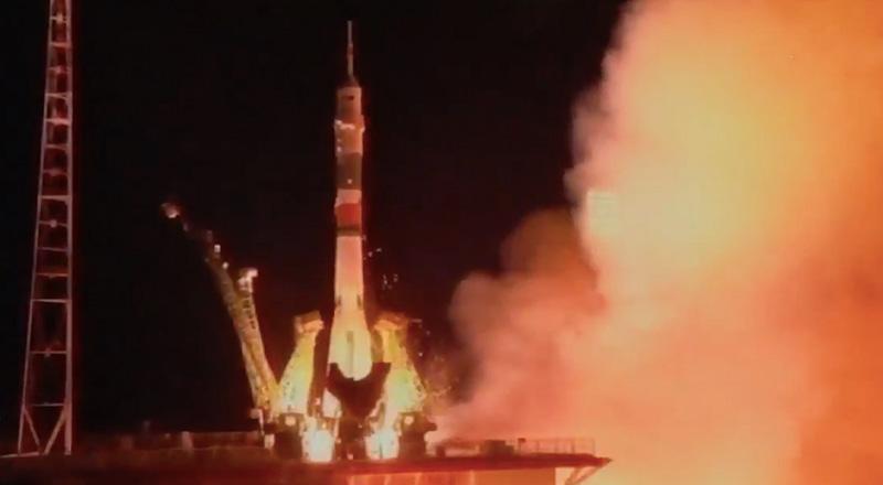 Luca Parmitano è regolarmente partito verso la Stazione Spaziale Internazionale, dal Kazakistan