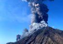 Il video che mostra il momento dell'esplosione a Stromboli