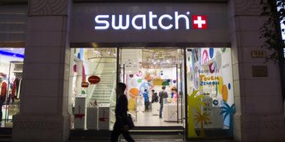 L'utile netto di Swatch è calato dell'11,3 per cento negli ultimi sei mesi, anche a causa della crisi a Hong Kong