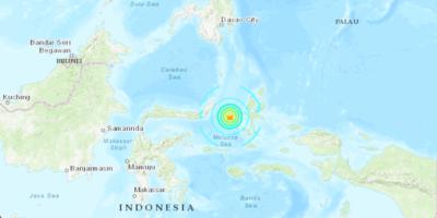 Indonesia sconvolta da terremoto 6.9 e dal rischio tsunami